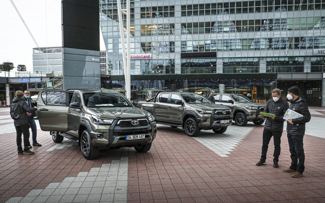 EUROPEAN PRESS LAUNCH OF THE TOYOTA HILUX